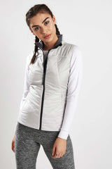 Falke Insulated Vest Clean Slate image 1 - The Sports Edit