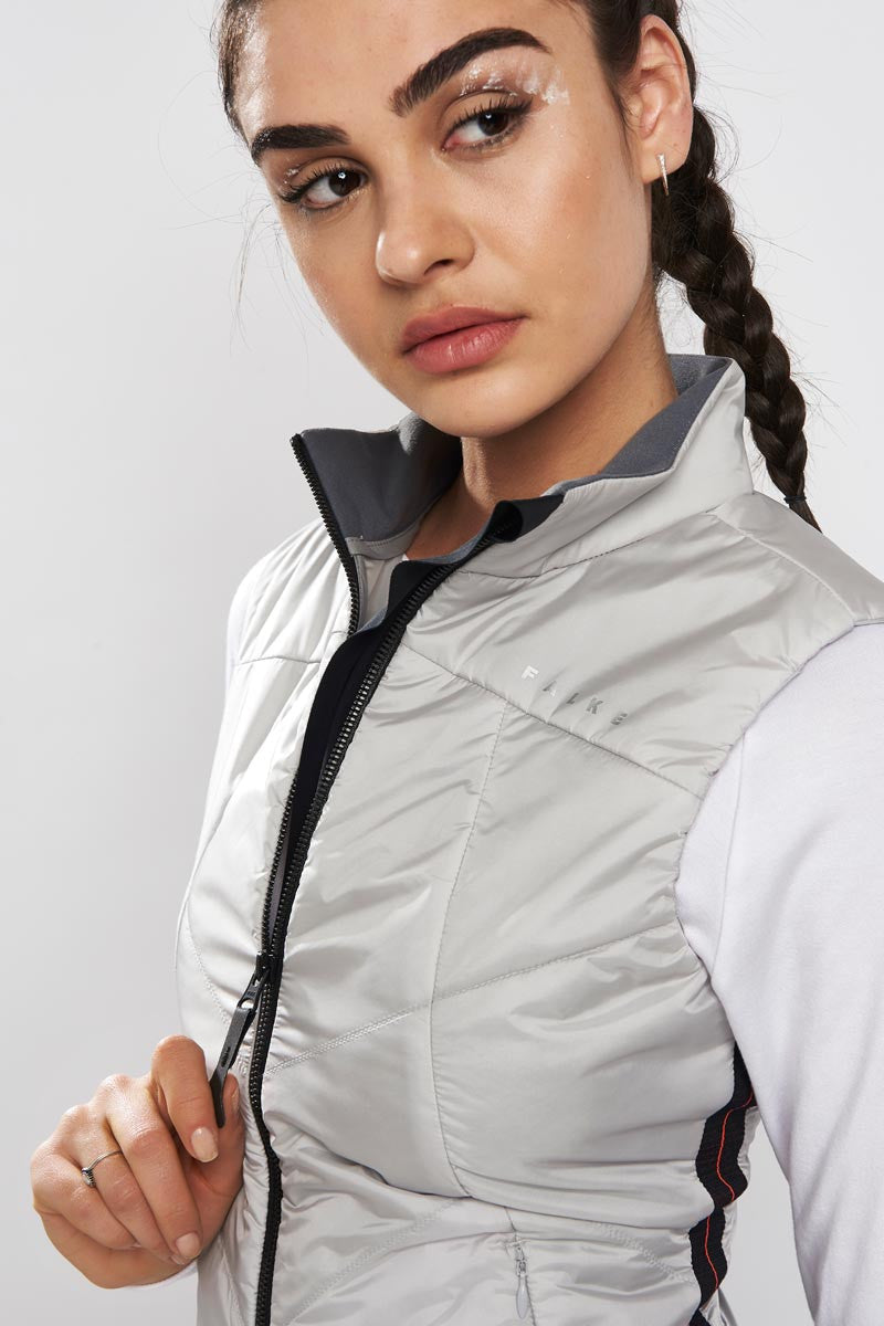 Falke Insulated Vest Clean Slate image 2 - The Sports Edit