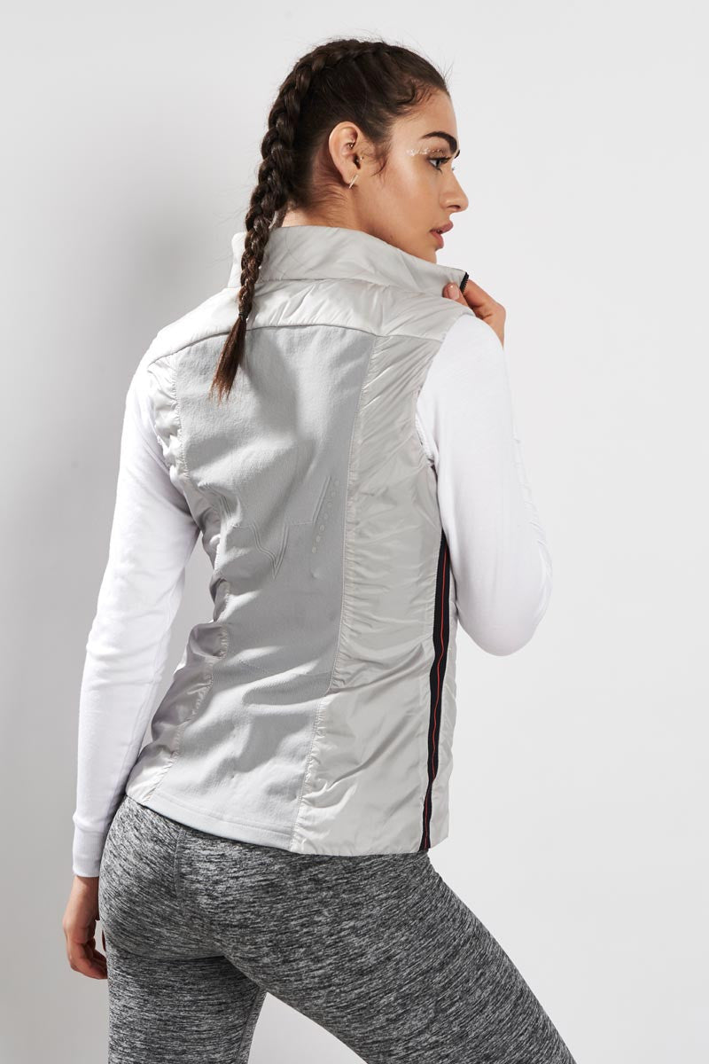 Falke Insulated Vest Clean Slate image 3 - The Sports Edit