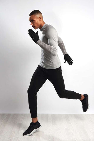 Falke Zip-up Longsleeved Running top image 1 - The Sports Edit