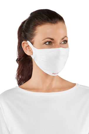 Falke 2-Pack Face Mask - White image 2 - The Sports Edit
