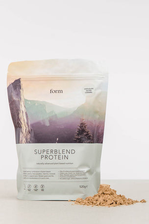 Form Nutrition Superblend Protein - Chocolate Salted Caramel image 4 - The Sports Edit