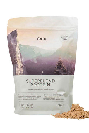 Form Nutrition Superblend Protein - Chocolate Salted Caramel image 1 - The Sports Edit