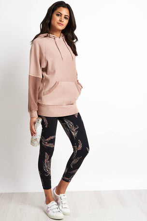 Free People Movement Hawking Hoodie - Taupe image 4 - The Sports Edit