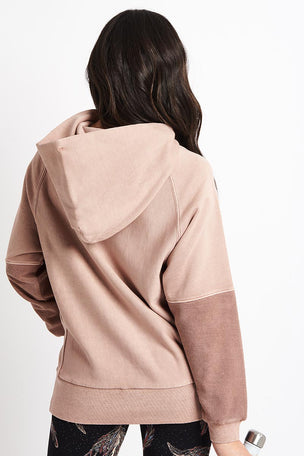 Free People Movement Hawking Hoodie - Taupe image 3 - The Sports Edit
