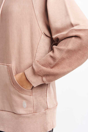 Free People Movement Hawking Hoodie - Taupe image 5 - The Sports Edit