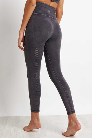 Free People Movement Shanti High Waist Leggings - Graphite image 2 - The Sports Edit