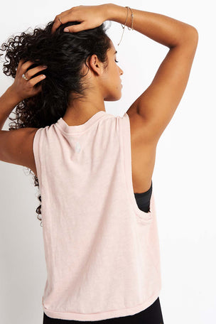 Free People Movement Love Tank - Taupe image 2 - The Sports Edit