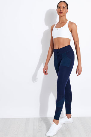 FP Movement Kyoto High Waisted Ankle Legging - Navy image 2 - The Sports Edit