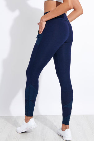 FP Movement Kyoto High Waisted Ankle Legging - Navy image 4 - The Sports Edit