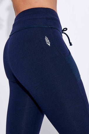 FP Movement Kyoto High Waisted Ankle Legging - Navy image 3 - The Sports Edit