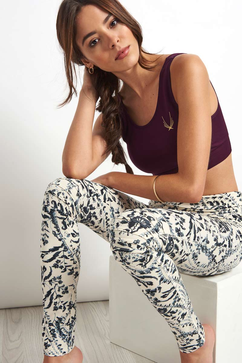 FP Movement Printed City Slicker Legging-Blue Combo image 3 - The Sports Edit