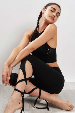 Free People Movement Turnout Legging-Black image 3 - The Sports Edit