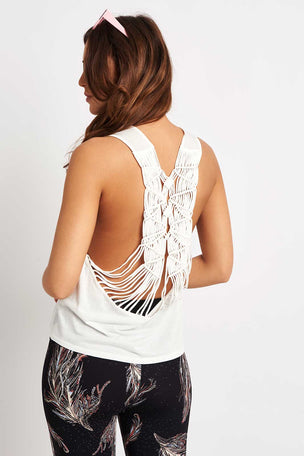 Free People Movement Wilder Tank - White image 5 - The Sports Edit