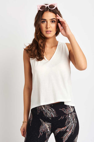 Free People Movement Wilder Tank - White image 4 - The Sports Edit