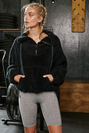 FP Movement Big Sky High-Neck Pullover - Black image 5 - The Sports Edit