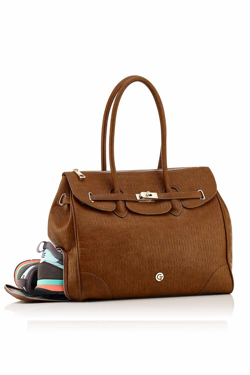 GymTote Eva LUXe Tote image 1 - The Sports Edit