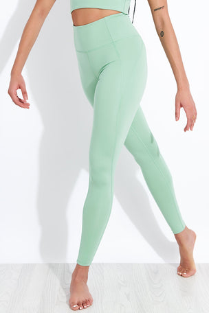 Girlfriend Collective Compressive High Waisted Legging - Foam image 1 - The Sports Edit