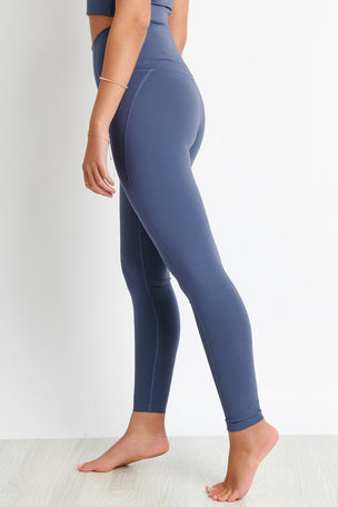 Girlfriend Collective Compressive High Waisted Legging - Tanzanite image 3 - The Sports Edit