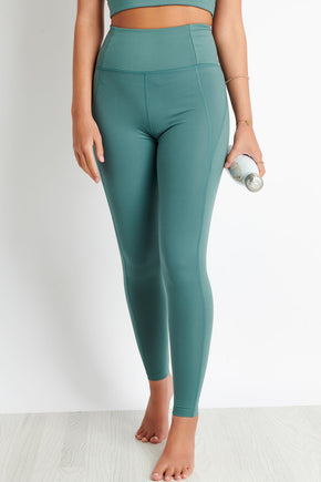 9ad326d5ed734 Girlfriend Collective Jade Compressive High-Rise Legging image 1 - The  Sports Edit