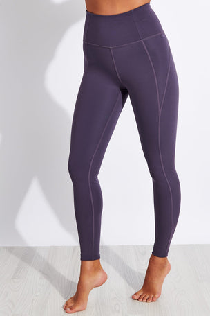Girlfriend Collective Compressive High Waisted Legging - Dahlia image 1 - The Sports Edit