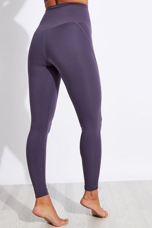 Girlfriend Collective Compressive High Waisted Legging - Dahlia image 3 - The Sports Edit