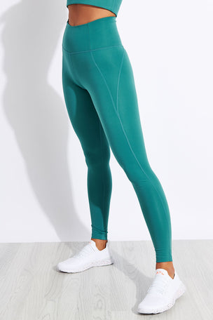 Girlfriend Collective Compressive High-Rise Legging - Vine image 1 - The Sports Edit