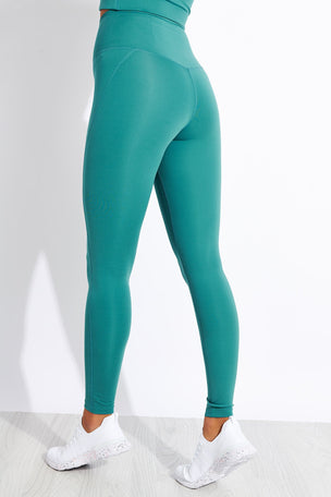 Girlfriend Collective Compressive High-Rise Legging - Vine image 3 - The Sports Edit