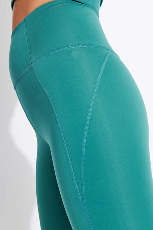 Girlfriend Collective Compressive High-Rise Legging - Vine image 4 - The Sports Edit