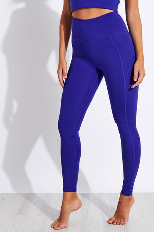 Girlfriend Collective Compressive High Waisted Legging - Pansy image 1 - The Sports Edit
