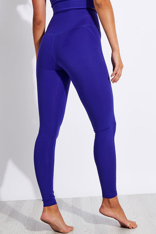 Girlfriend Collective Compressive High Waisted Legging - Pansy image 3 - The Sports Edit