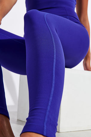 Girlfriend Collective Compressive High Waisted Legging - Pansy image 4 - The Sports Edit