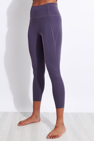 Girlfriend Collective Compressive High Waisted 7/8 Legging - Dahlia image 1 - The Sports Edit