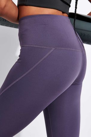 Girlfriend Collective Compressive High Waisted 7/8 Legging - Dahlia image 4 - The Sports Edit