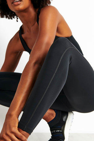 Girlfriend Collective Lite High Waisted Legging - Black image 4 - The Sports Edit