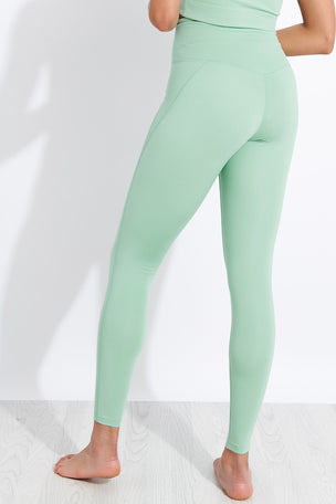 Girlfriend Collective Compressive High Waisted Legging - Foam image 3 - The Sports Edit