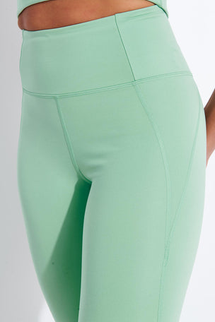 Girlfriend Collective Compressive High Waisted Legging - Foam image 4 - The Sports Edit