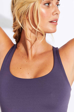 Girlfriend Collective Paloma Bra Classic - Dahlia image 4 - The Sports Edit