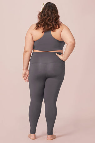 Girlfriend Collective The Maternity Legging - Smoke image 6 - The Sports Edit