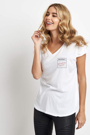 good hYOUman Rounded Relaxed Tee - The Helen image 1 - The Sports Edit