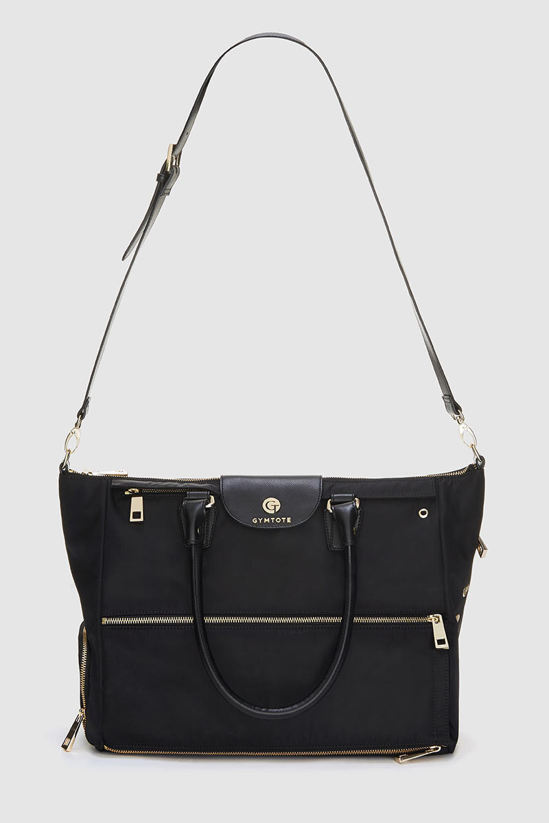 GymTote Reese Tote - Black image 5 - The Sports Edit