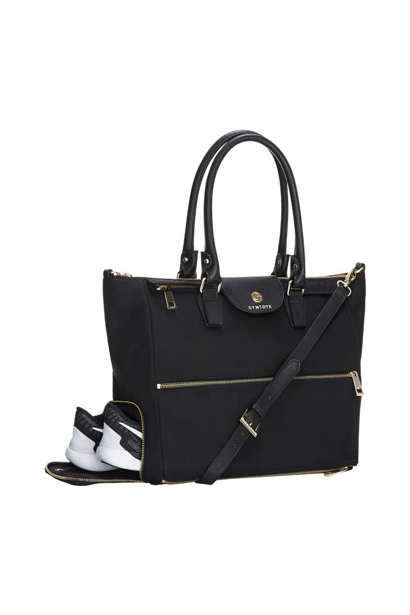 GymTote Reese Tote - Black image 2 - The Sports Edit