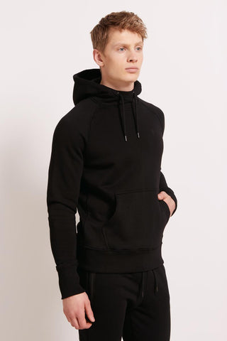 HPE Everyday Hoodie - Black image 1 - The Sports Edit
