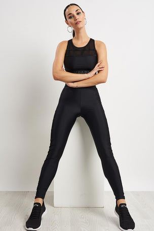 Ivy Park Caging Leggings - Black image 4 - The Sports Edit