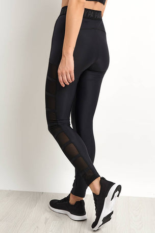 Ivy Park Caging Leggings - Black image 2 - The Sports Edit