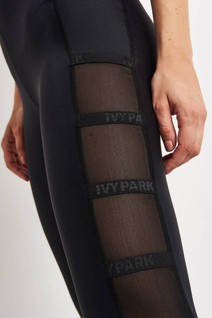 Ivy Park Caging Leggings - Black image 3 - The Sports Edit