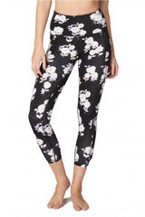 Kate Spade x Beyond Yoga Lux Floral Cinched Side Bow High Waist Capri image 4 - The Sports Edit
