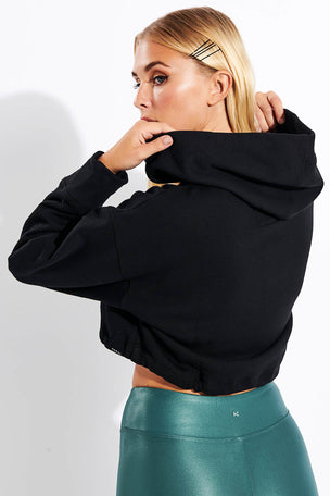 Koral Clover Matte Sweatshirt - Black image 3 - The Sports Edit