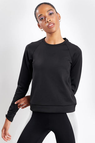 Koral Crown Pullover Black image 1 - The Sports Edit