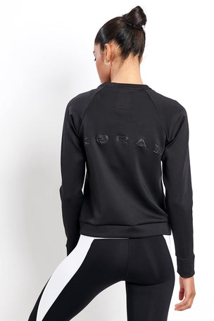 Koral Crown Pullover Black image 2 - The Sports Edit
